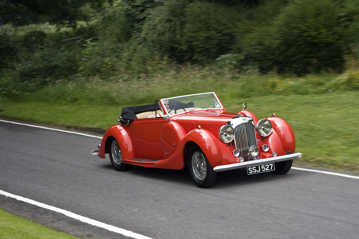 1938 Lagonda LG6 Drop Head Coupe For Sale (picture 3 of 6)