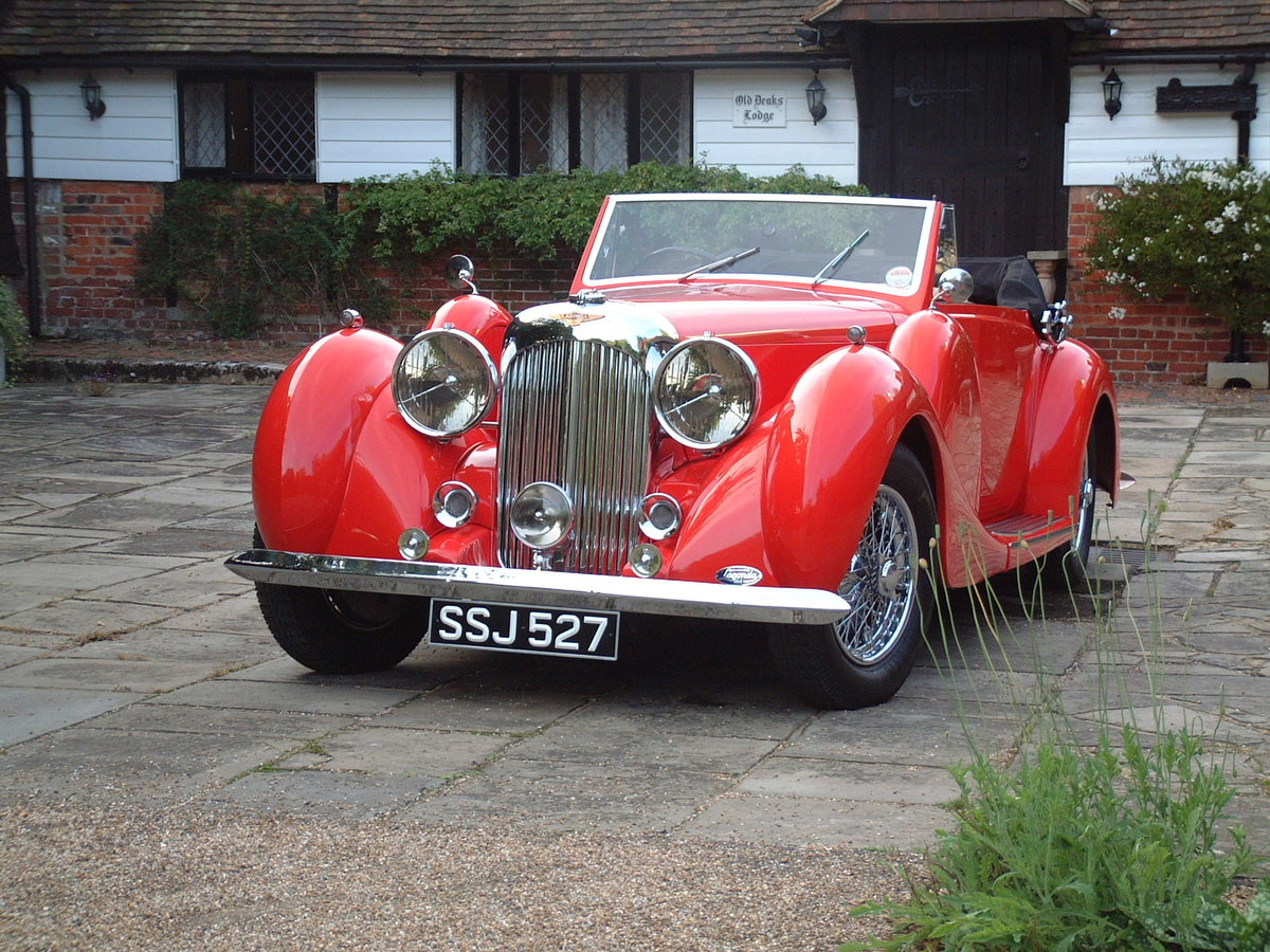 1938 Lagonda LG6 Drop Head Coupe For Sale (picture 5 of 6)