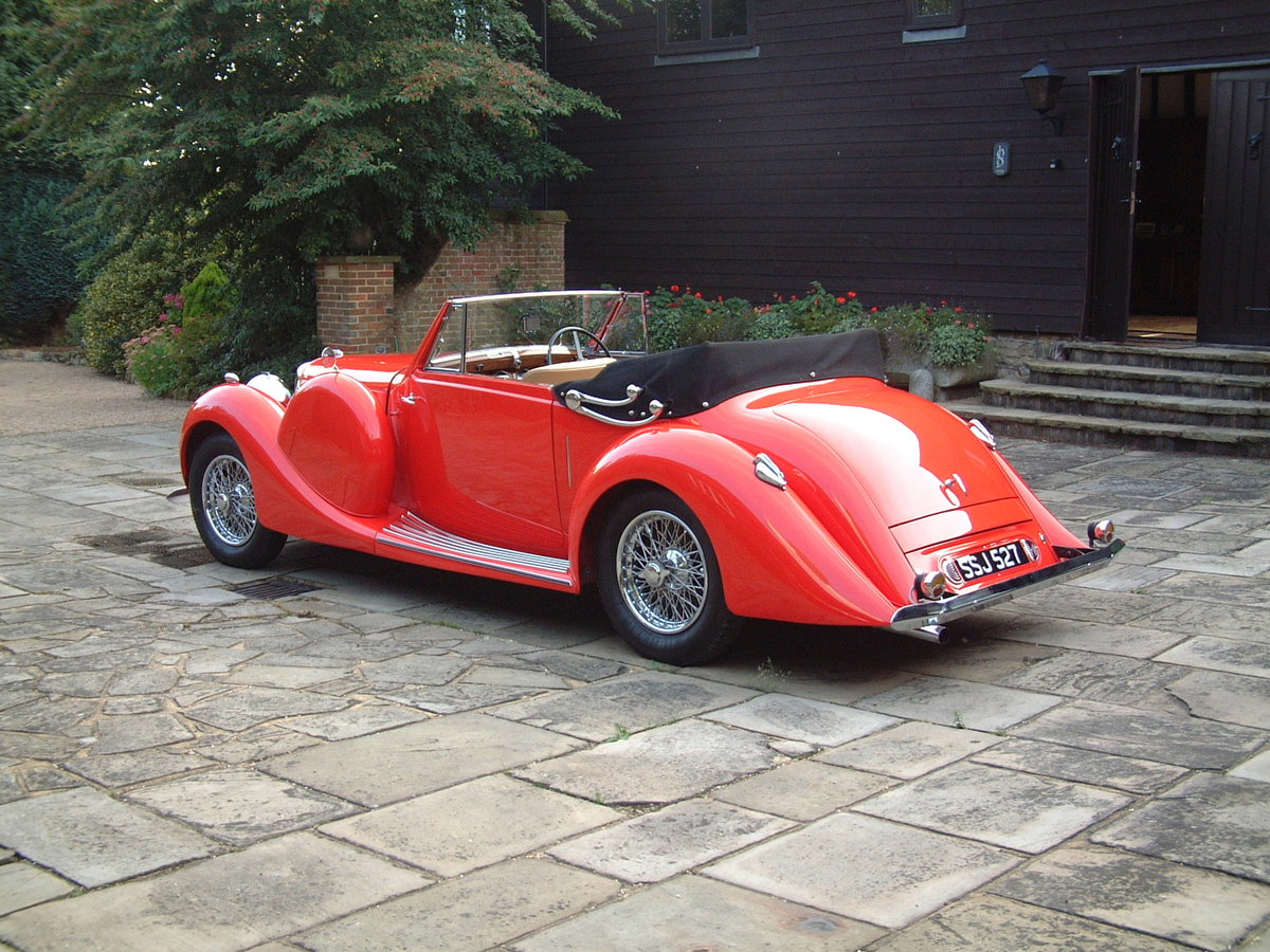 1938 Lagonda LG6 Drop Head Coupe For Sale (picture 6 of 6)