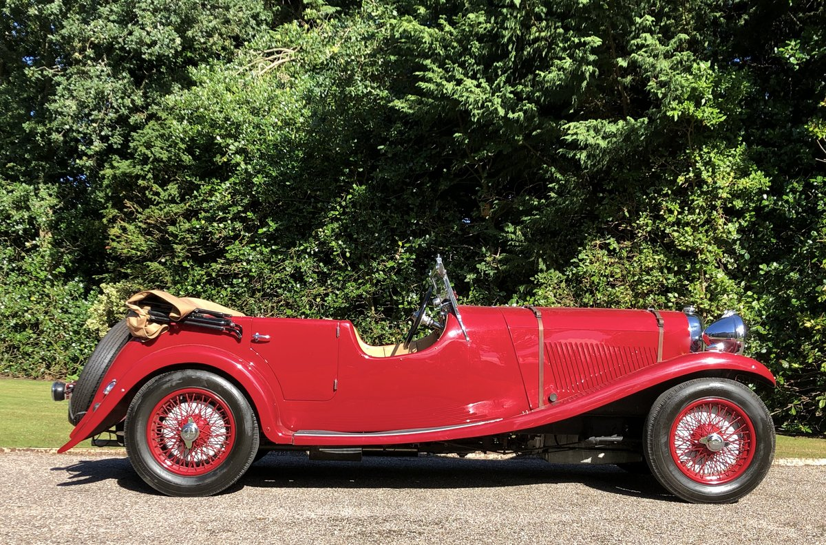 1934 LAGONDA S TYPE 16/80 T7 Tourer For Sale (picture 2 of 6)