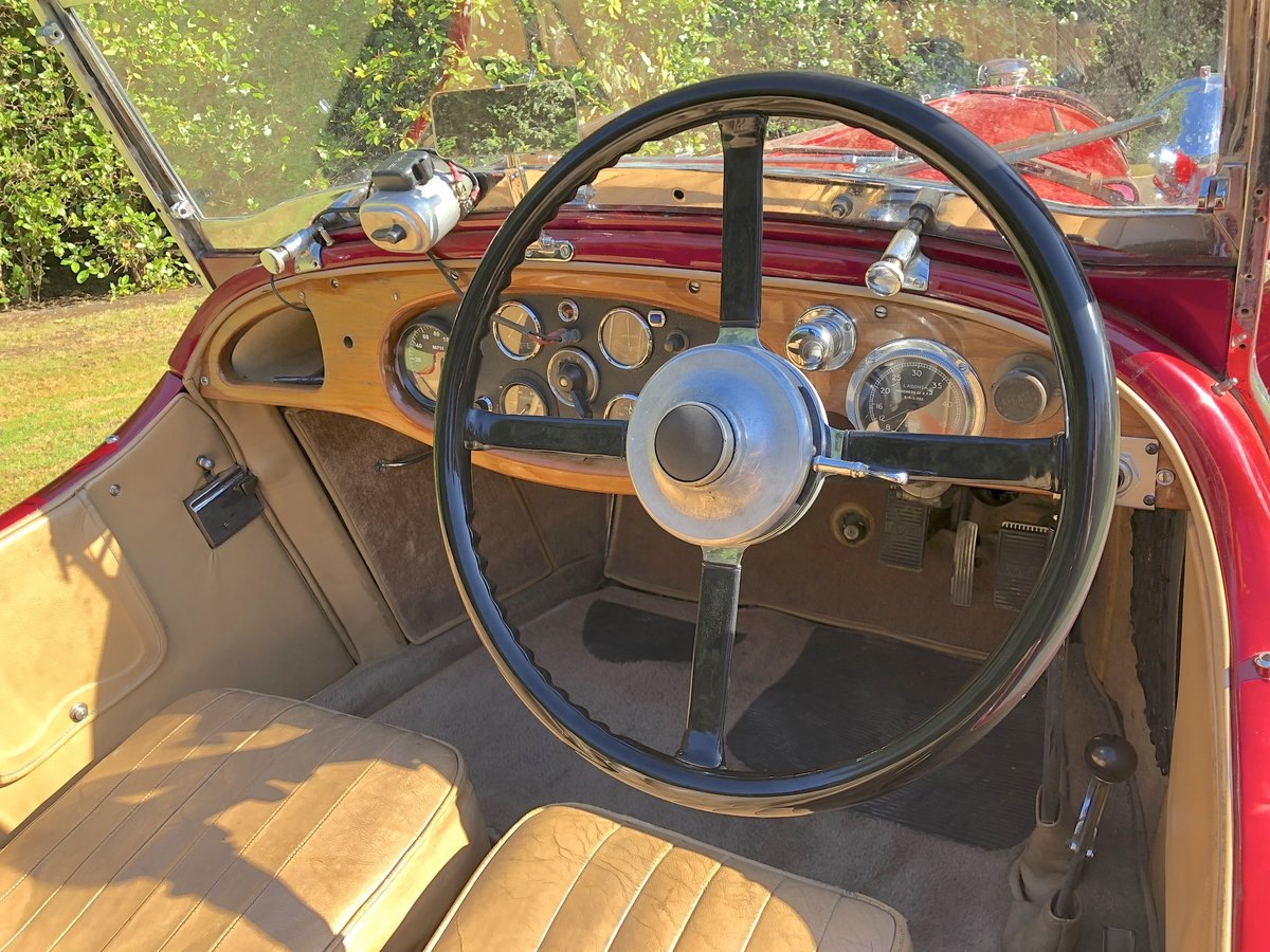 1934 LAGONDA S TYPE 16/80 T7 Tourer For Sale (picture 4 of 6)