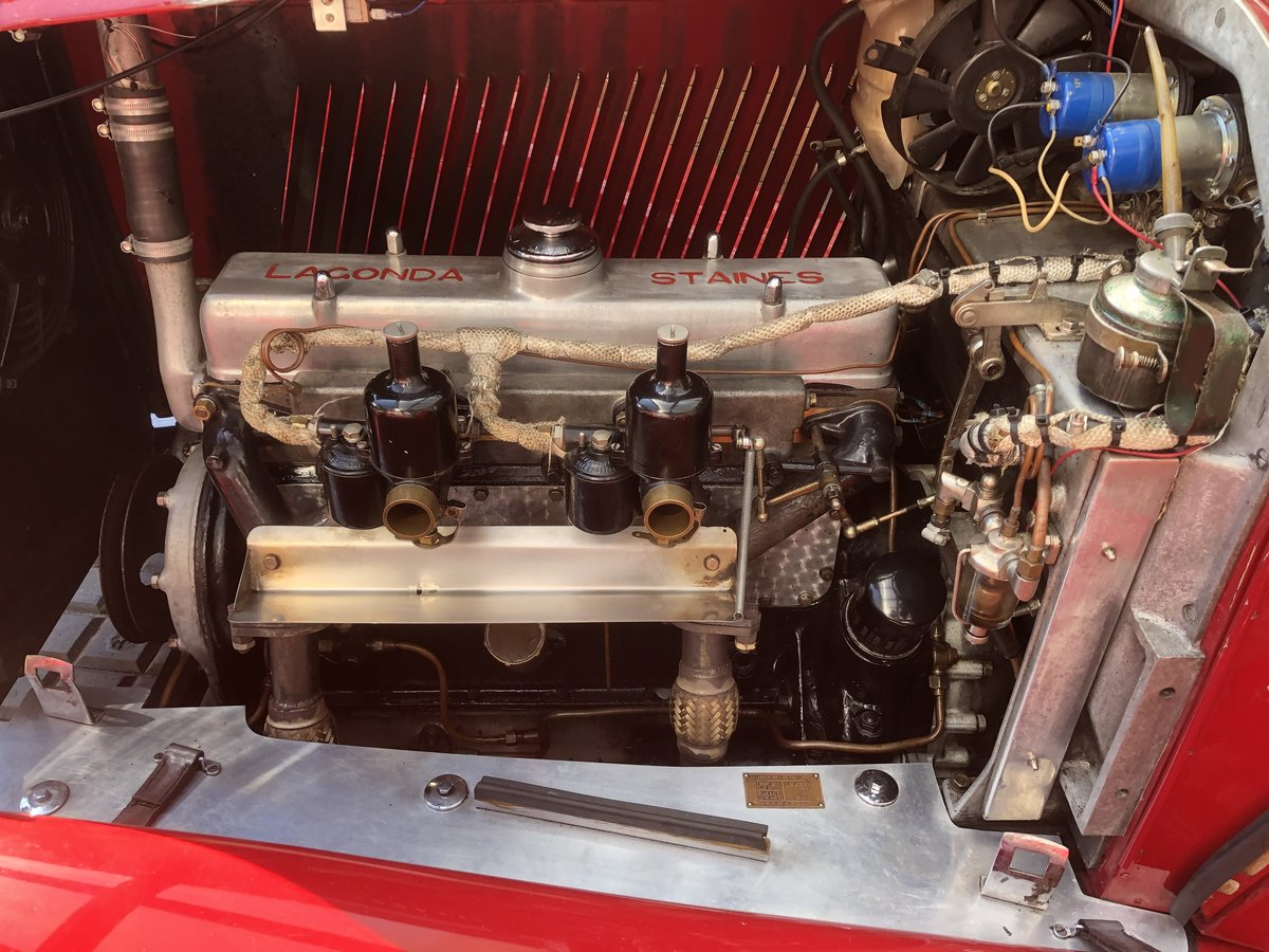 1934 LAGONDA S TYPE 16/80 T7 Tourer For Sale (picture 6 of 6)
