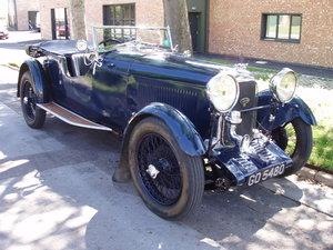 1931 Lagonda 2-litre low chassis T2 tourer