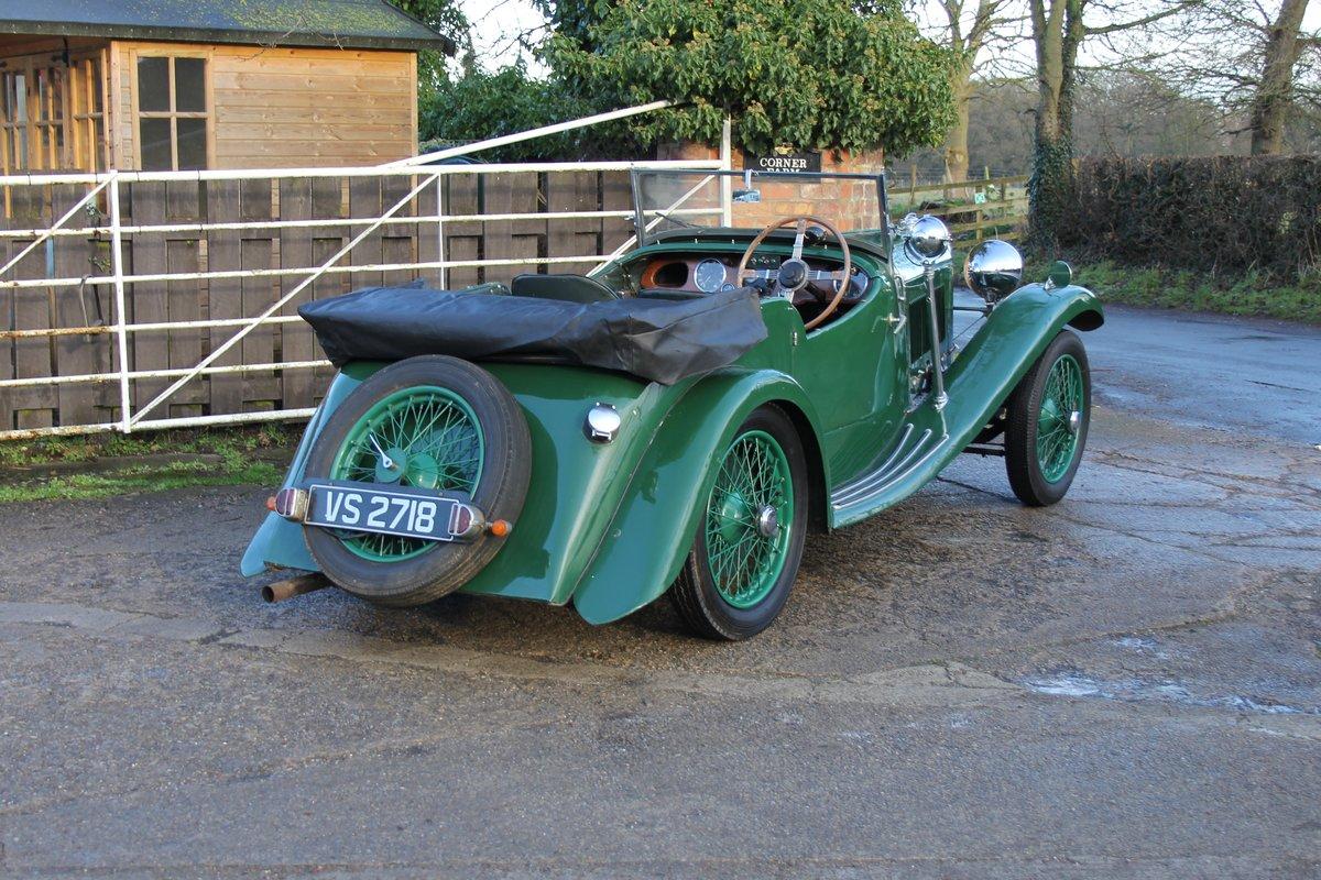 1934 Lagonda Rapier Four Seat Tourer, Usable Example For Sale (picture 6 of 16)