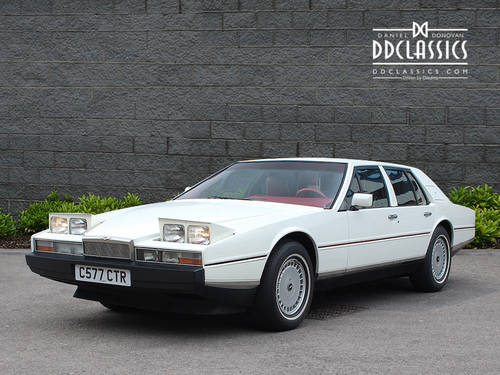1985 Aston Martin Lagonda Series 2 (LHD) SOLD (picture 1 of 6)