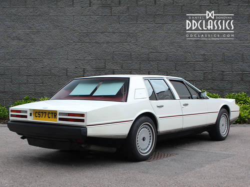 1985 Aston Martin Lagonda Series 2 (LHD) SOLD (picture 2 of 6)