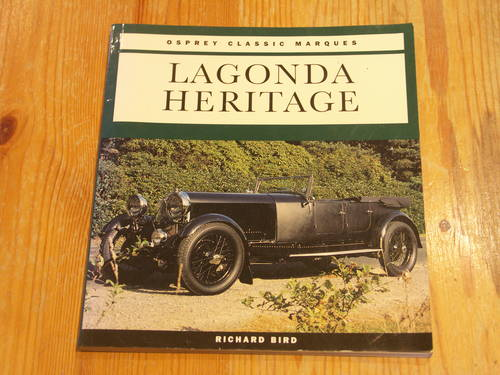 Lagonda Heritage For Sale (picture 1 of 1)