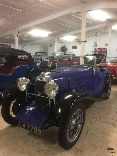 1934 Lagonda Rapier 2 seat Tourer for sale in Hampshire ... SOLD (picture 1 of 6)