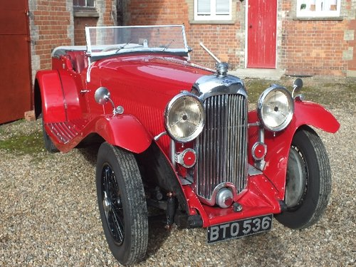 1935 A T9 bodied 3.5 litre Lagonda with a comprehensive history For Sale (picture 1 of 6)