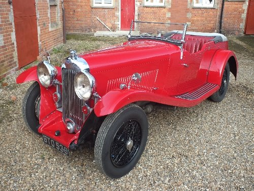1935 A T9 bodied 3.5 litre Lagonda with a comprehensive history For Sale (picture 2 of 6)