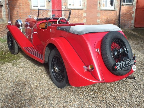 1935 A T9 bodied 3.5 litre Lagonda with a comprehensive history For Sale (picture 3 of 6)