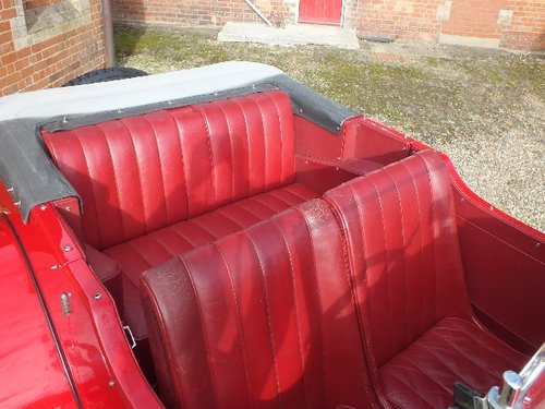 1935 A T9 bodied 3.5 litre Lagonda with a comprehensive history For Sale (picture 5 of 6)