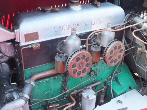 1935 A T9 bodied 3.5 litre Lagonda with a comprehensive history For Sale (picture 6 of 6)