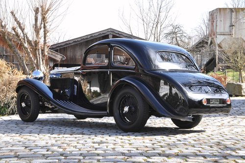 1934 Lagonda M45 Coupé One-Off by Brainsby Woollard For Sale (picture 3 of 6)