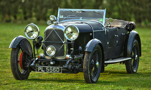 1931 Lagonda 2-Litre Supercharged Low Chassis Tourer For Sale (picture 1 of 6)