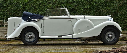 1936 Lagonda LG45 Drop head Coupe For Sale (picture 2 of 6)