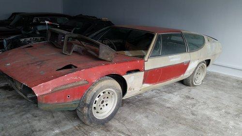1969 Rhd Lambo Espada Rolling Shell Project Car With No Engine For