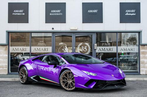 2018 18 Lamborghini Huracan Performante Sold Car And Classic