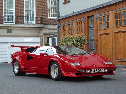 1988 Lamborghini Countach 5000 Qv Sold Car And Classic