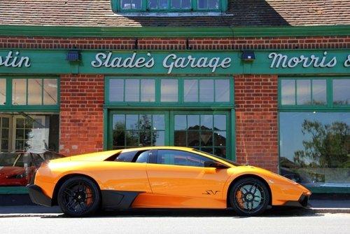 2009 Lamborghini Murcielago Coupe SV  SOLD (picture 1 of 4)