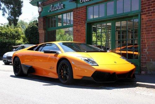 2009 Lamborghini Murcielago Coupe SV  SOLD (picture 2 of 4)