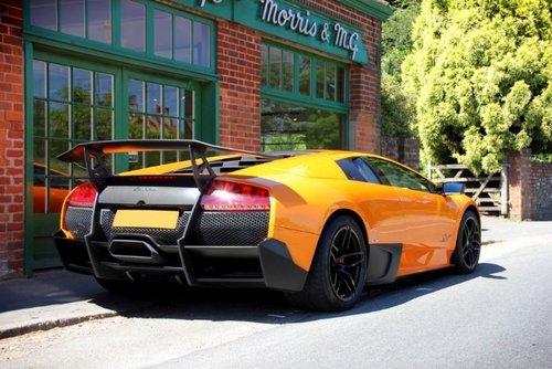 2009 Lamborghini Murcielago Coupe SV  SOLD (picture 3 of 4)