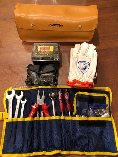 1991 Lamborghini Diablo various tool kit / bag For Sale (picture 3 of 5)