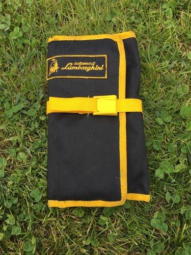 1991 Lamborghini Diablo various tool kit / bag For Sale (picture 4 of 5)
