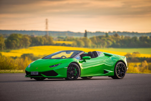 2018 Hire a Lamborghini Huracan Spyder For Hire (picture 6 of 6)
