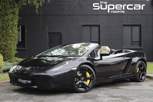 2006 Lamborghini Gallardo Spyder - 22K Miles - New Clutch  For Sale (picture 1 of 6)