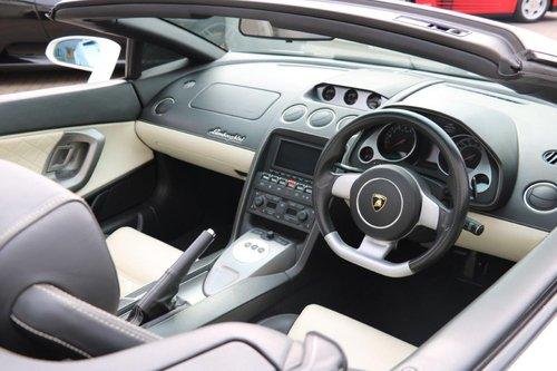 2008 Lamborghini Gallardo Spyder  For Sale (picture 4 of 6)