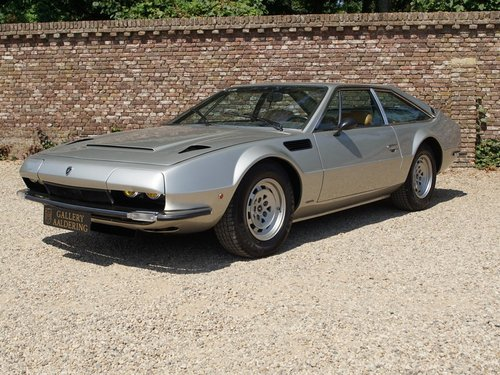 1974 Lamborghini Jarama S well-known history, only 49.840 kms For Sale (picture 1 of 6)