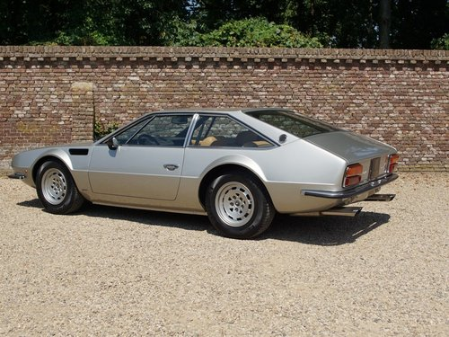 1974 Lamborghini Jarama S well-known history, only 49.840 kms For Sale (picture 2 of 6)