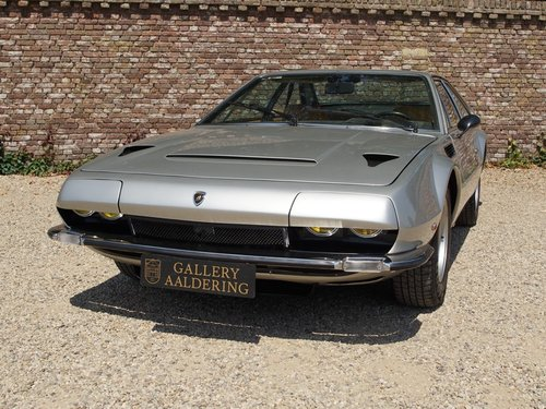 1974 Lamborghini Jarama S well-known history, only 49.840 kms For Sale (picture 5 of 6)