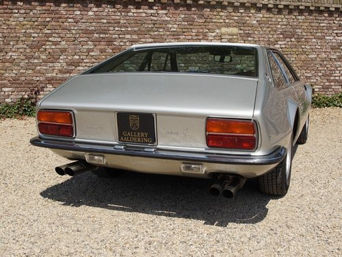 1974 Lamborghini Jarama S well-known history, only 49.840 kms For Sale (picture 6 of 6)