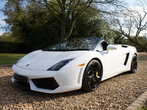 2011 Lamborghini Gallardo LP560-4 Spyder 1 owner from new FLSH For Sale (picture 4 of 6)