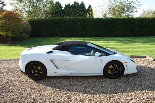2011 Lamborghini Gallardo LP560-4 Spyder 1 owner from new FLSH For Sale (picture 6 of 6)