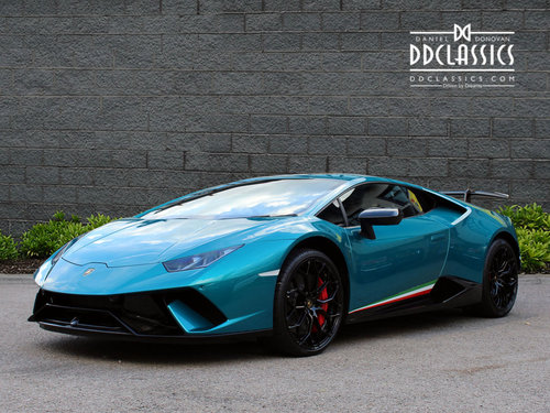 2018 LAMBORGHINI HURACAN PERFORMANTE (RHD) For Sale (picture 1 of 6)