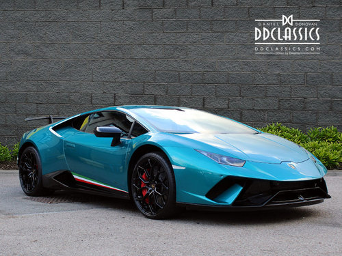 2018 LAMBORGHINI HURACAN PERFORMANTE (RHD) For Sale (picture 2 of 6)
