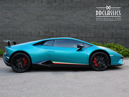 2018 LAMBORGHINI HURACAN PERFORMANTE (RHD) For Sale (picture 4 of 6)