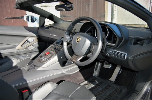 2014 Lamborghini Aventador Roadster SOLD (picture 3 of 6)