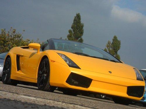 2009 Lamborghini Gallardo Spyder  For Sale (picture 1 of 5)