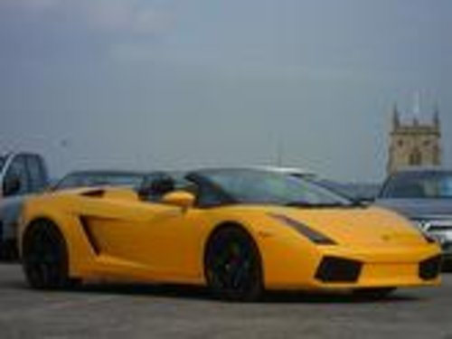 2009 Lamborghini Gallardo Spyder  For Sale (picture 2 of 5)