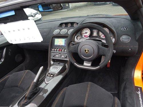 2014 Lamborghini Gallardo 5.2 2dr LP570-4 PERFORMANTE SPYDER For Sale (picture 4 of 5)