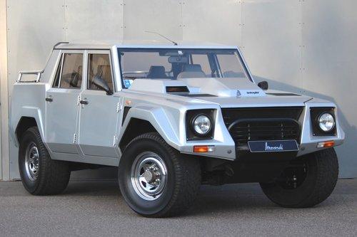 1988 Lamborghini Lm002 Lhd For Sale Car And Classic