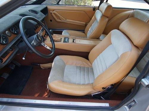 1974 Lamborghini Jarama S well-known history, only 49.840 kms For Sale (picture 3 of 6)