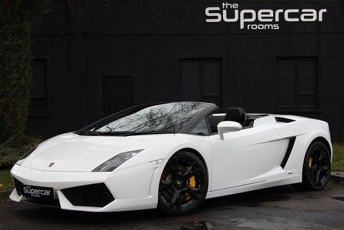 Lamborghini Gallardo Spyder Lp560 4 27k Miles 2009 For Sale