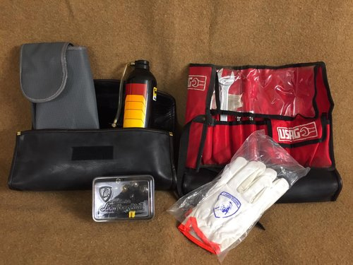 1991 Lamborghini Diablo various tool kit / bag For Sale (picture 1 of 5)