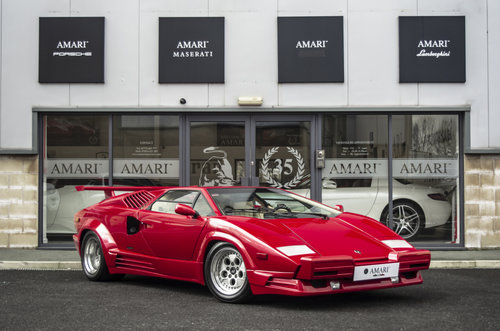 1990 G Lamborghini Countach 25th Anniversary LHD SOLD (picture 1 of 6)