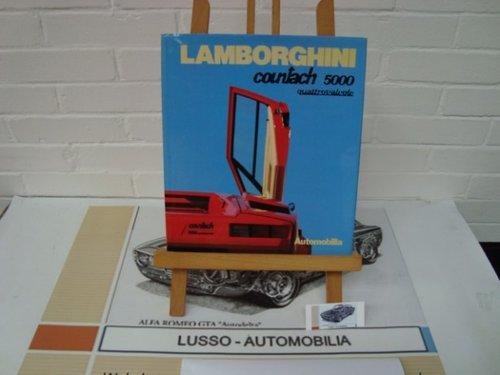 Lamborghini Countach 5000 Quattrovalvole hardcover (IT/EN/FR For Sale (picture 1 of 1)